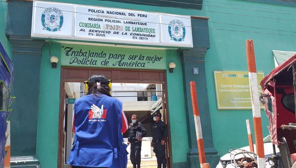 Lambayeque: La Defensoría realizó una supervisión los días 12, 13 y 16 de noviembre de 2020 en un total de 19 comisarías de la región norteña. (Foto: Defensoría del Pueblo)