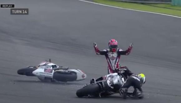 MotoGP: No creerás lo que le pasó a este piloto [VIDEO]