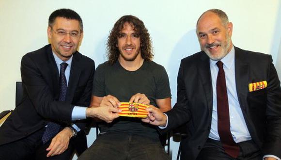Crisis en Barcelona: Puyol renunció y Zubizarreta fue echado