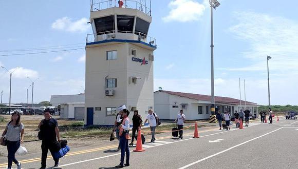 Se mejorará la pista de aterrizaje, que tiene una longitud de 2500 y un ancho de 45 metros. (Foto: MTC)