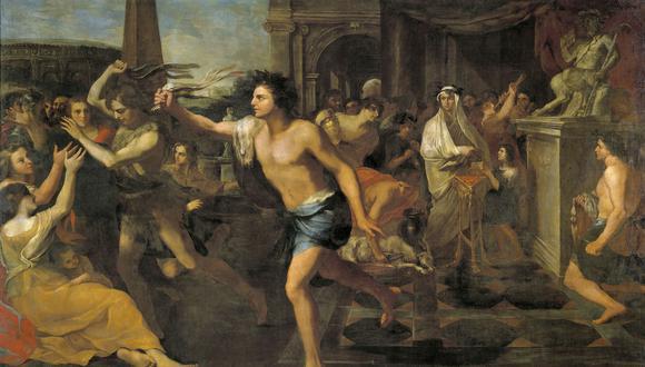 Lupercalia, la festividad pagana de la fertilidad que celebraban los romanos el 13, 14 y 15 de febrero y con el que daban la bienvenida a la primavera, marca los orígenes de San Valentin. (Creative Commons)