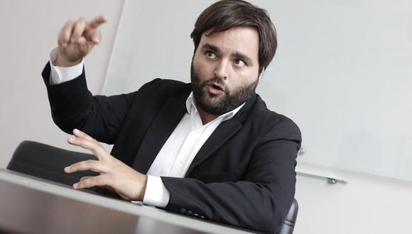 """""""Creo, en general, que los partidos políticos no deberían hablar de candidatos naturales"""", afirmó el congresista Alberto De Belaunde. (Foto: GEC)"""