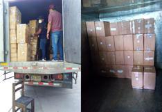 Lambayeque: intervienen camión con cerca de dos millones de cigarrillos ilegales valorizados en más de 130 mil dólares