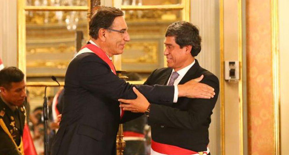 Carlos Lozada reemplaza en el cargo al renunciante Edmer Trujillo. (Foto: Hugo Curotto/ GEC)