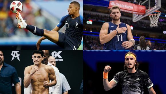 A continuación hacemos un repaso de cuatro estrellas del deporte mundial que ya conquistas títulos y masas. (Foto: GEC)