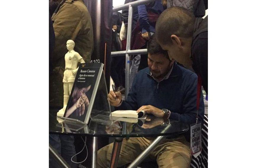Mi reencuentro con los lectores en la FIL, por Renato Cisneros. FOTO: Twitter.