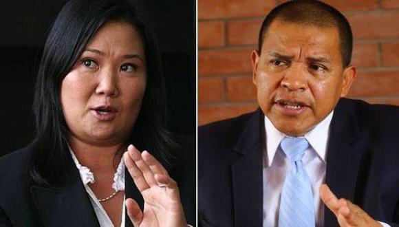 Keiko Fujimori debatió con Miguel Hilario en el segundo bloque del debate presidencial organizado por el Jurado Nacional de Elecciones. (Foto: El Comercio)