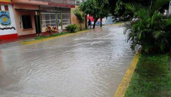 Senamhi prevé fuertes lluvias en la selva desde el miércoles