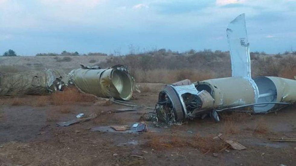 Irán lanzó 22 misiles a dos bases con ciudadanos estadounidenses instaladas en Irak. Foto: Getty images, vía BBC Mundo