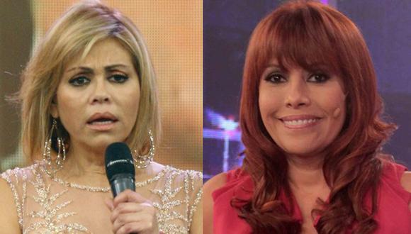 Magaly Medina volvió a vencer en ráting a Gisela Valcárcel
