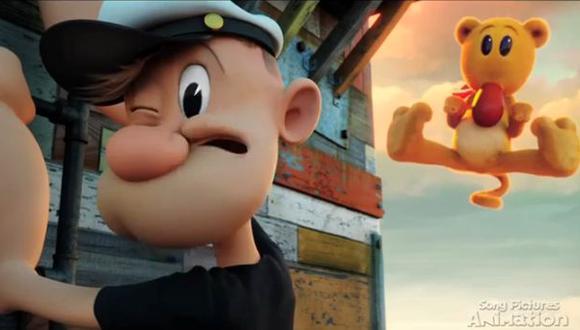 Popeye: mira las primeras imágenes del marinero en 3D