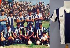 ¿Quién conserva como un tesoro la camiseta de Los Potrillos de Alianza Lima 1987?