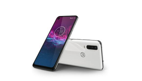 Motorola presentó en el Perú su smartphone Motorola One Action, que ofrece un concepto innovador para la industria. (Foto: Motorola)