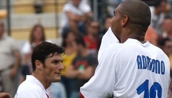 Adriano: la llamada que arruinó su carrera contada por Zanetti