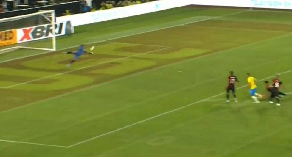Perú vs. Brasil EN VIVO: Gallese y su magistral intervención para el evitar el 1-0 de Richarlison   VIDEO. (Video: Movistar Deportes / Foto: Captura de pantalla)
