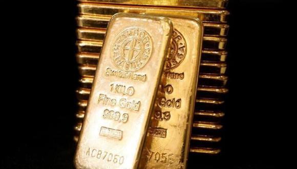 Los futuros del oro en Estados Unidos se mostraban planos a US$1.883 la onza. (REUTERS/Edgar Su)