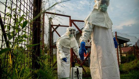 Casi la mitad de los 250 casos totales confirmados de ébola, es decir, 121, se reportaron también en octubre, y 95 de ellos (el 78,5 %) fueron en la ciudad de Beni. (Foto referencial: AFP)