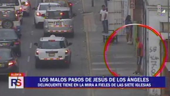 'Caracha', el temido delincuente que acecha en Cercado de Lima