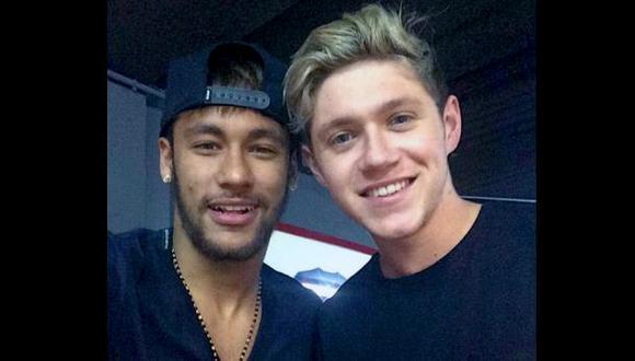 ¿Será Neymar el nuevo 'integrante' de One Direction?