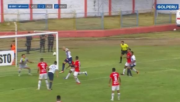 Federico Rodíguez y el 2-1 con un cabezazo | Foto: Captura