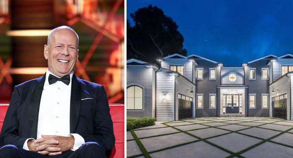 Bruce Willis decidió mudarse a la costa oeste de Estados Unidos y compró una increíble mansión en el área de Brentwood, en Los Ángeles. (Foto: The MLS)
