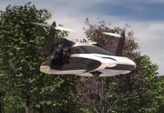 Los taxis voladores podrían estar listos en una década