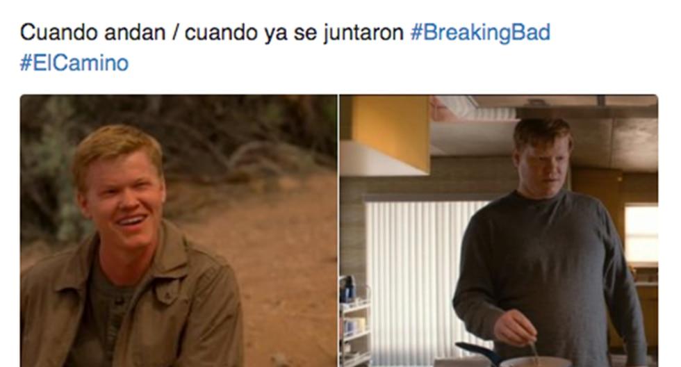 Estos son los más divertidos memes de 'El Camino: Una película de Breaking Bad'. La cinta fue estrenada por el servicio de streaming de Netflix. (Facebook | Twitter)