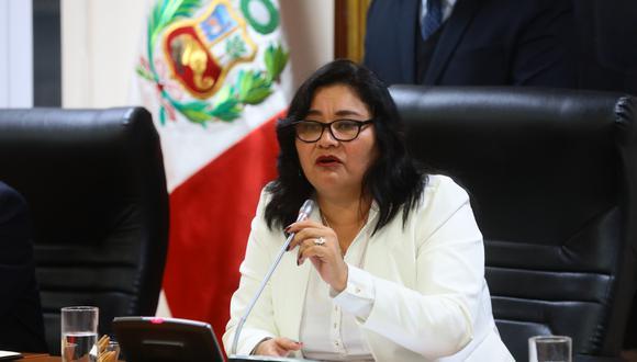 """Janet Sánchez aseguró que durante su presidencia en la Comisión de Ética """"no permitiría"""" que el grupo sea usado políticamente. (Foto: Congreso)"""