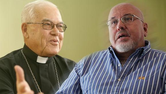 Monseñor Luis Bambarén dijo que les pide perdón a los homosexuales que se hayan sentido ofendidos e indicó que rezará por ellos. (Fotocomposición: Diego Melgar)