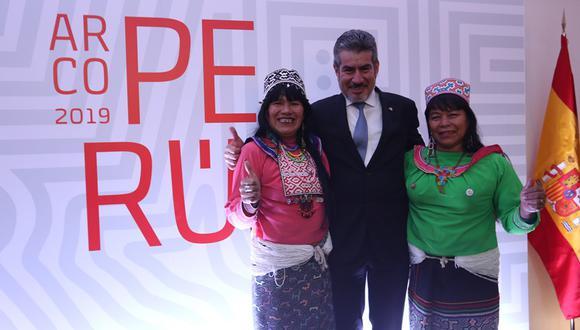 Perú en ARCOmadrid 2019. (Foto: Víctor Idrogo/ El Comercio)