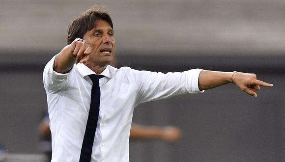 Antonio Conte podría reemplazar a Zinedine Zidane en el Real Madrid. EFE/EPA/Martin Meissner / POOL