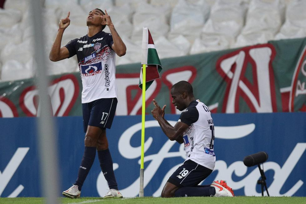 Junior enfrentó a Fluminense por la Copa Libertadores