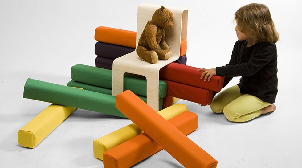 Crean un mueble que estimula la creatividad de los niños - 1