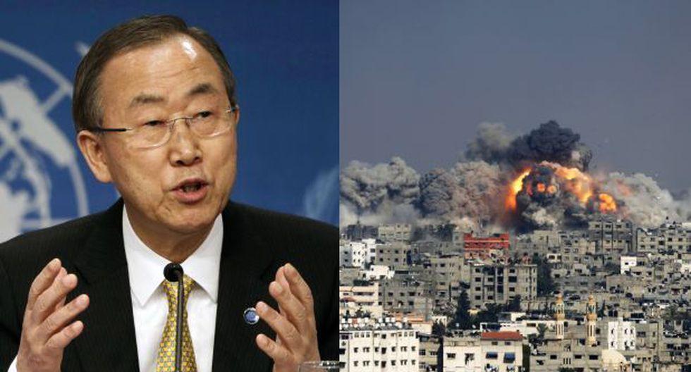 Ban Ki-moon se declara decepcionado por la violencia en Gaza