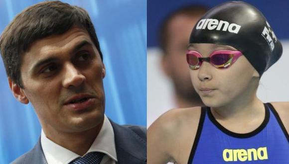 Popov defendió participación de niña en Mundial de natación
