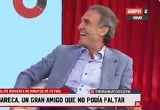 Ricardo Gareca y el mensaje desde su auto a Ruggeri tras regreso del 'Cabezón' a la TV  | VIDEO