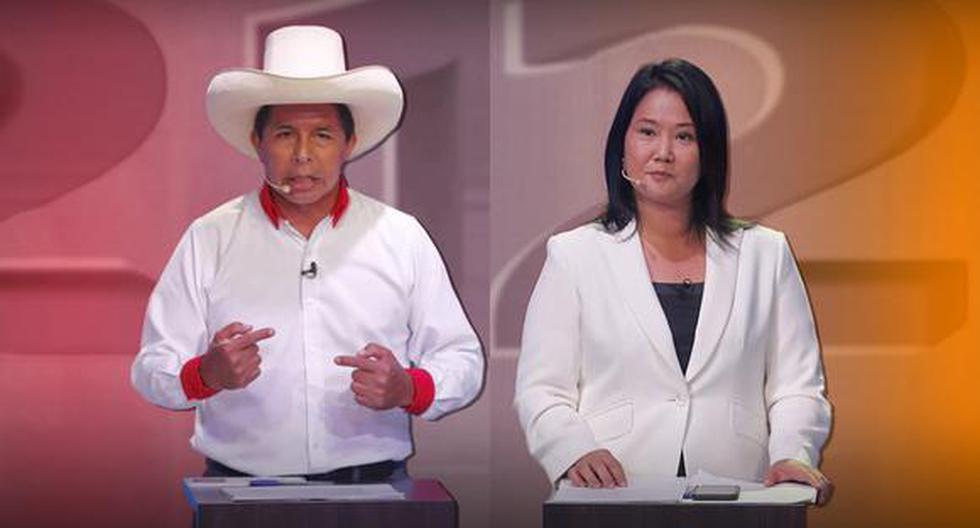 Pedro Castillo y Keiko Fujimori sellarán su participación en estas elecciones 2021 con el debate del domingo 30 de mayo. (Composición: El Comercio)