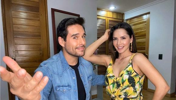 Carmen Villlobos y Sebastián Caicedo mantienen una exitosa relación amorosa a pesar de que pasan mucho tiempo separados (Foto: Carmen Villalobos / Instagram)