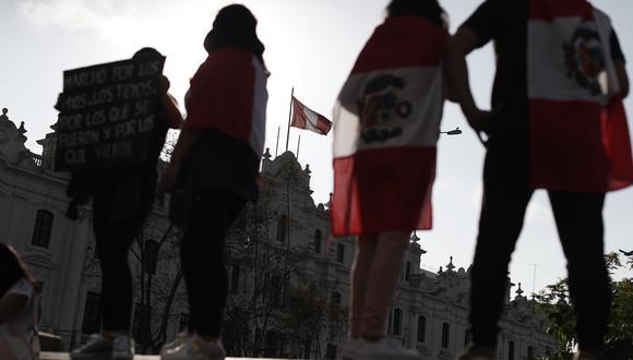 El Gobierno busca evitar incidentes violentos en las protestas luego de la muerte de dos jóvenes manifestantes en la segunda marcha nacional. (Foto: César Campos/GEC)