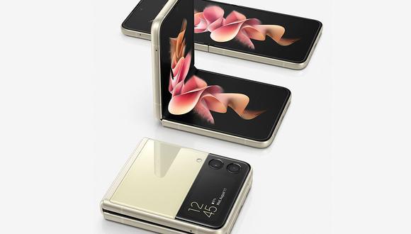 Conoce todos los detalles del nuevo celular 'sapito' de Samsung: el Galaxy Z Flip 3. (Foto: Samsung)