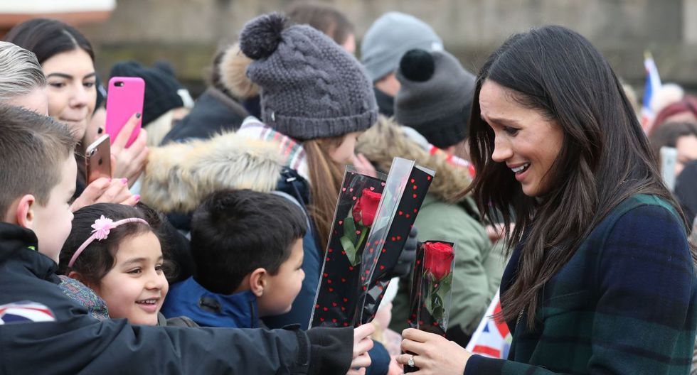 .Es la primera aparición pública de Meghan Markle desde la decisión de la pareja de buscar una mayor independencia de la monarquía británica viviendo a tiempo parcial en Canadá. (Foto: Archivo/AFP).