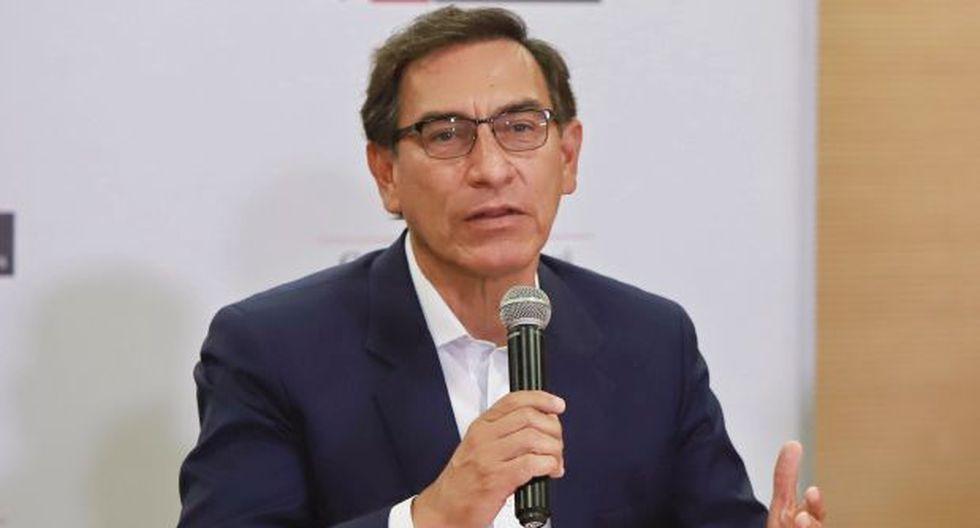 El presidente Martín Vizcarra sostuvo que con el fallo del TC se da la vuelta a la página a la crisis política. (Foto: Presidencia)