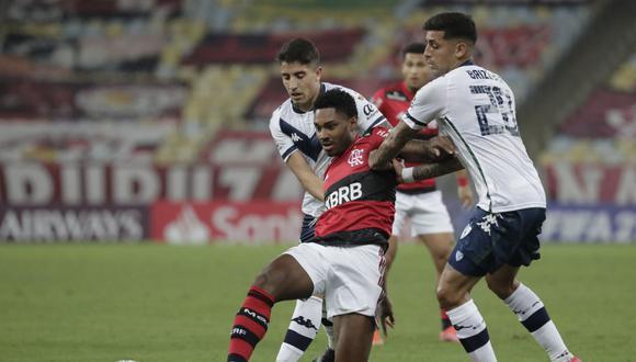 Vélez y Flamengo empataron sin goles en un partido válido por la fecha 6 del Grupo G de la Copa Libertadores en el Estadio Maracaná. (Foto: AFP)