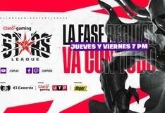 Claro Gaming Stars League | Partidos de la jornada 8 del Clausura