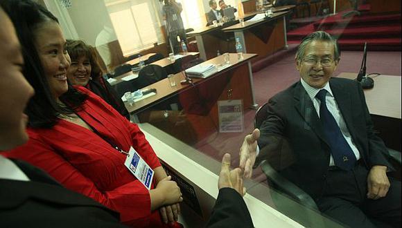 """""""Alberto Fujimori y Keiko se reúnen para ver temas políticos"""""""