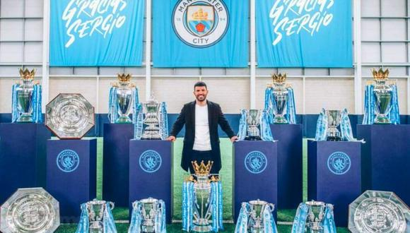 Kun Agüero es el goleador histórico del Manchester City. (Foto: Manchester City)