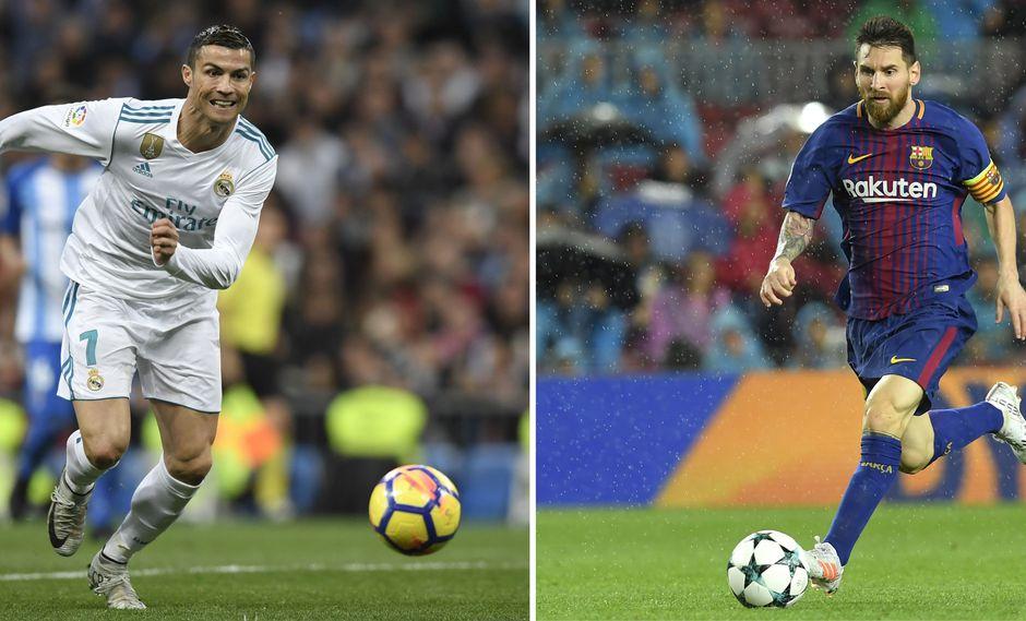 Barcelona vs. Real Madrid: se enfrentarán este fin de semana por la Liga española. (Foto: AFP)