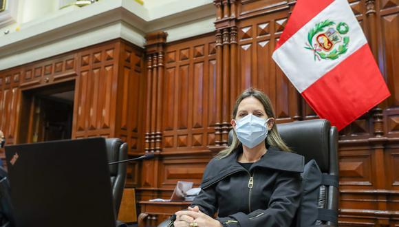 María del Carmen Alva dijo que Asesoría Jurídica emitirá informes sobre Manuel Merino y Francisco Sagasti. (Foto: archivo Twitter Congreso)