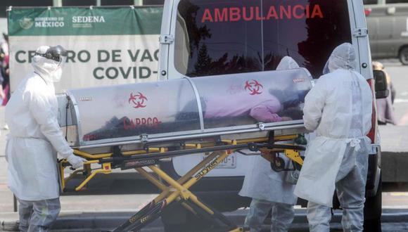 Coronavirus en México   Últimas noticias   Último minuto: reporte de infectados y muertos hoy, lunes 26 de julio del 2021   Covid-19. (Foto: AFP / PEDRO PARDO).