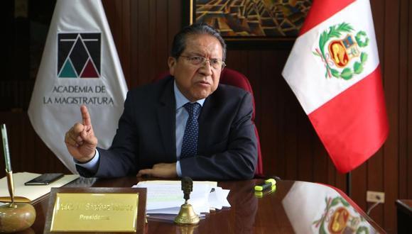 """""""Yo desconocía. Me enteré el mismo día (de esta semana). Me impactó esa declaración, me quedé sorprendido de lo que se decía tan fácilmente"""", dijo el fiscal supremo y coordinador del Equipo Especial Los Cuellos Blancos del Puerto Pablo Sánchez."""